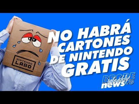 NO habrá cartones de Nintendo GRATIS