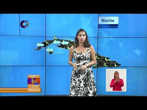 Actualización del Parte del Tiempo en Cuba: 10 de septiembre de 2021