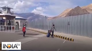 Around 60 stranded Ladakh native landed at Leh via domestic flight - INDIATV
