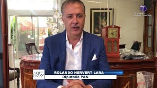 Hervert Lara exhortó al Gobierno del Estado brindar apoyo al sector turismo.