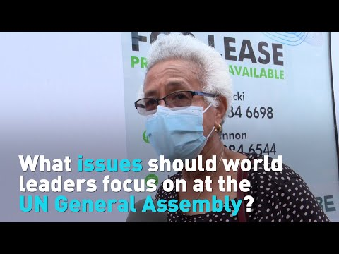 What issues should world leaders focus on at the UN General Assembly