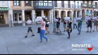 Manifestación sin incidentes en favor del etarra Patxi Ruiz