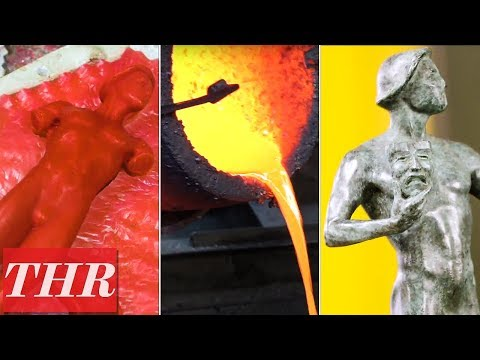 connectYoutube - How SAG Awards Statuettes Are Made: Inside The American Fine Arts Foundry | THR