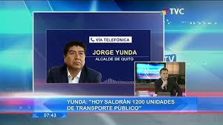 Yunda: ''Es importante que la ciudadanía cumpla con todas las normas sanitarias''