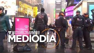 Aumentan las medidas de seguridad en Times Square para darle la bienvenida al 2020