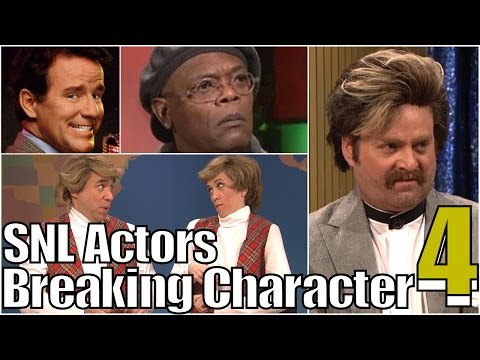 SNL Bloopers & Actors Breaking Character Compilation (Part 4)
