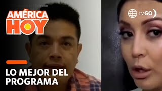 América Hoy: Karla Tarazona demandará a Leonard León por no pagar manutención de S/. 18 000 (HOY)