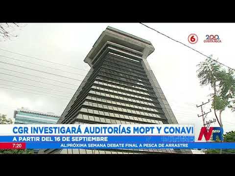 Contraloría investigará auditorías internas del MOPT y Conavi