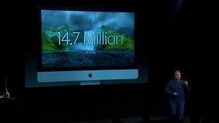 Watch the debut of the iMac with Retina display