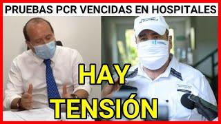 Urgente Guatemala, hallazgos perturbadores pruebas PCR vencidas encontradas en Hospital de Escuintla