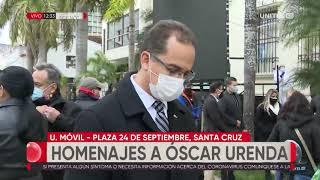 Autoridades participaron de la misa de despedida a Óscar Urenda