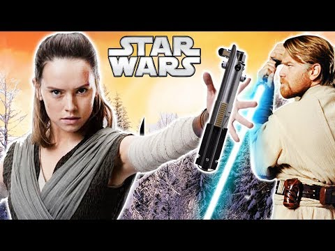 Why Luke's Lightsaber Calls to Rey - Star Wars Theory