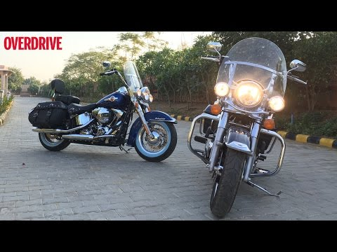2016 Harley-Davidson 1200 Custom, Softail Heritage Classic and Road King - First Ride Review