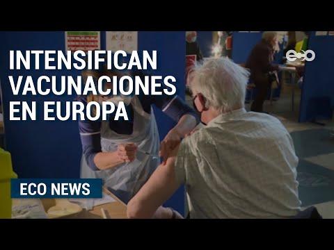 Vacunaciones en Europa luchan contra nuevos récords de contagios | Eco News