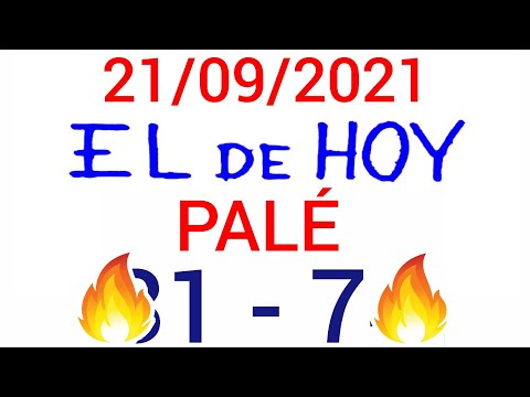 NÚMEROS PARA HOY 21/09/21 DE SEPTIEMBRE PARA TODAS LAS LOTERÍAS...!! Números reales 05 para hoy...!!