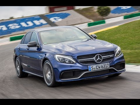 New Mercedes-AMG C63 tested on road and track
