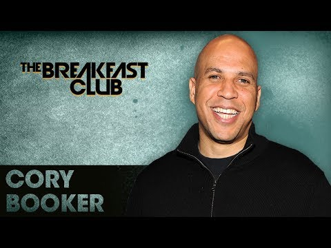 Senator Cory Booker Explains Why He Barked At Trump's Cabinet Over His Remarks
