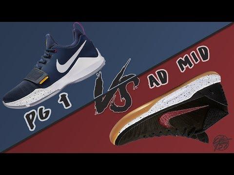 Nike Pg 1  vs Kobe AD Mid!