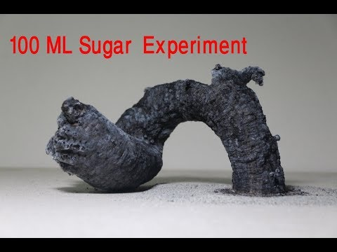 100 ML Sugar experiments | Mind Blowing Science Experiments