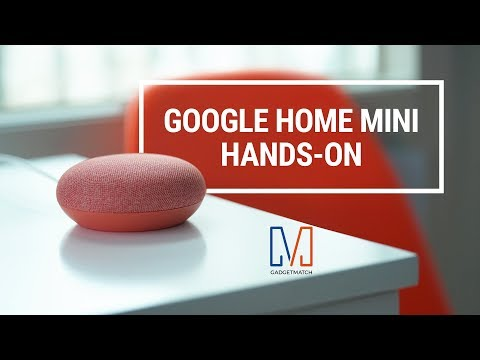 Google Home Mini Unboxing and Hands-on