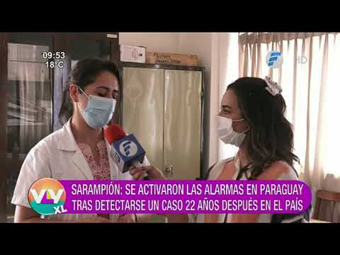 Sarampión: Se activaron las alarmas en Paraguay