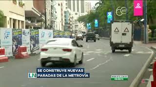 Construyen nuevas paradas de la Metrovía en Guayaquil