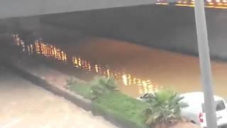 فيديو لشوارع حفر الباطن بعد ان غمرتها السيول