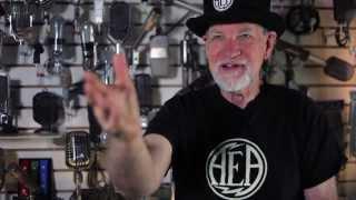 Introducing the AEA N22 NUVO series phantom-powered ribbon microphone