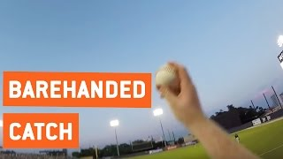 Baseball Fan Makes Incredible Catch | Barehanded