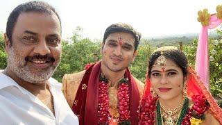 Actor Raja Ravindra Attends Nikhil Marriage | Nikhil & Pallavi Wedding Moments - RAJSHRITELUGU