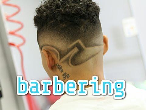 corte de cabelo masculino     desenho tribal   ja arte