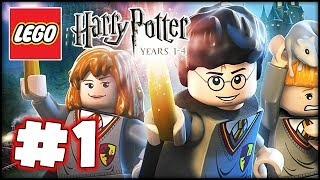 LEGO Harry Potter: Years 1-4 - Part 1 HD Walkthrough - The Magic Begins