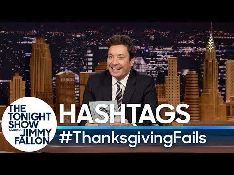 connectYoutube - Hashtags: #ThanksgivingFails