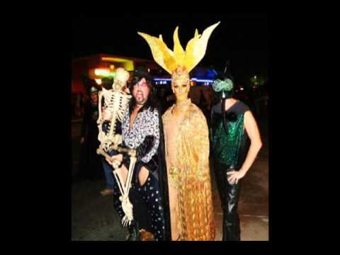 Halloween In Palm Springs 2011 Featuring LORD ADAM Dmented Inc Glenn Storm Male Elvira