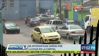 Se intensifican daños por lluvias en La Capital
