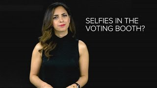 Snapchat is getting really serious about voting selfies