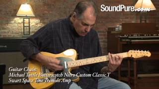 Michael Tuttle Butterscotch Nitro Custom Classic T Guitar Demo