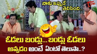 Brahmanandam And Raghu Babu Best Comedy Scenes | Telugu Comedy Videos | TeluguOne - TELUGUONE