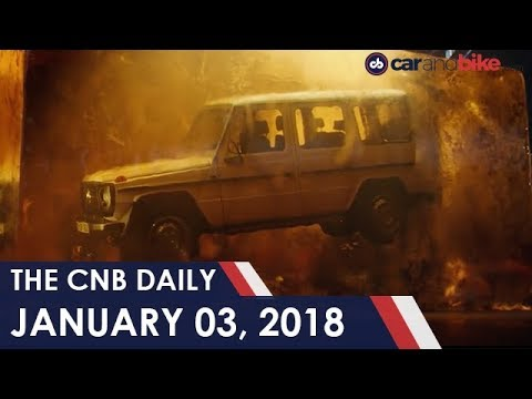 connectYoutube - New Mercedes-Benz G-Class Teased | 2018 Maserati Quattroporte Comes To India | Ducati Issues Recall