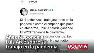 AÑEZ CRITICA A ARCE, COVID19