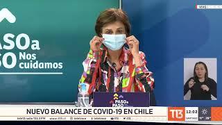 Coronavirus en Chile: balance del 26 de octubre