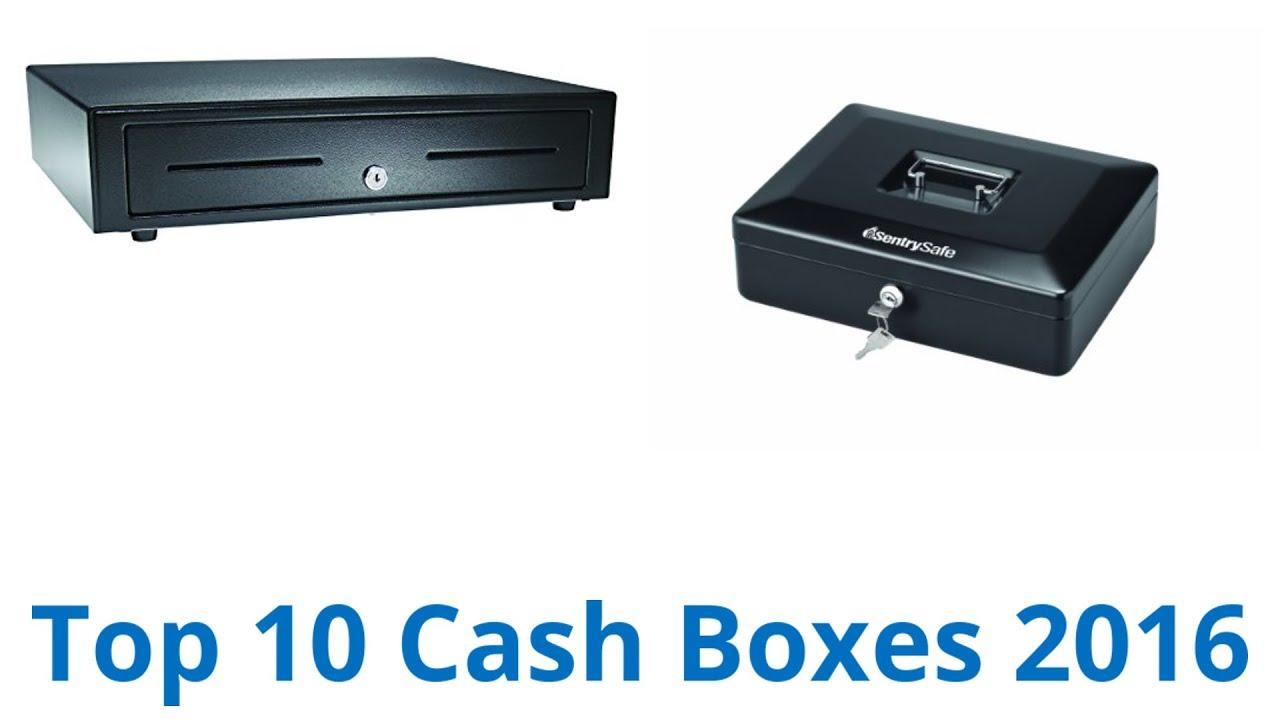10 Best Cash Boxes 2016