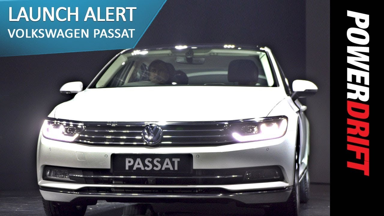 Volkswagen Passat : Launch Alert : PowerDrift