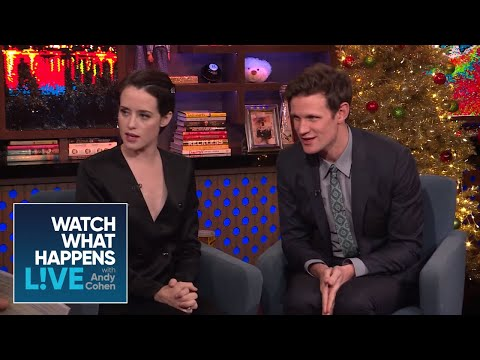 Claire Foy And Matt Smith On Prince Harry And Meghan Markle | WWHL