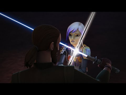 Behind The Scenes: The Darksaber | Star Wars Rebels