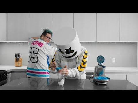 connectYoutube - Cooking with Marshmello: How to Make Lemonade Slushies (Feat. Slushii)