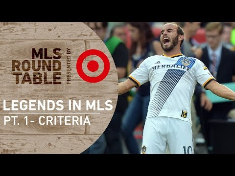 What makes an MLS Legend?   Round Table pres. by Target