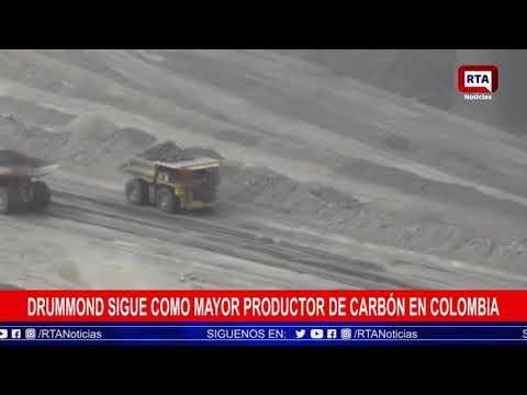 Drummond sigue como mayor productor de carbón en Colombia