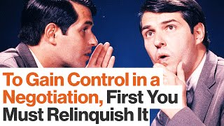 Your Most Powerful Negotiation Tool: The Illusion of Control | FBI Negotiator Chris Voss
