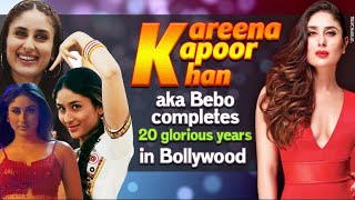 Bebo aka Kareena Kapoor Khan completes 20 glorious years   Checkout best roles played by the beauty - TELLYCHAKKAR